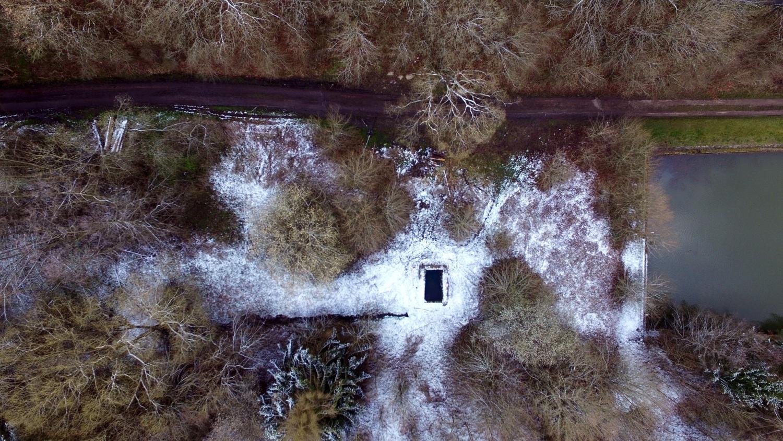 Fotografie tůní v Brdatkách zptačí perspektivy